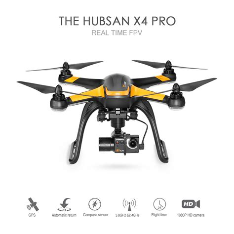 Drone Hubsan X4 Pro H109s Low Edition 1 Axis 5 8g Real Fpv Rc Quadcor original hubsan x4 pro h109s 5 8g fpv drone with 1080p hd sales uk tomtop