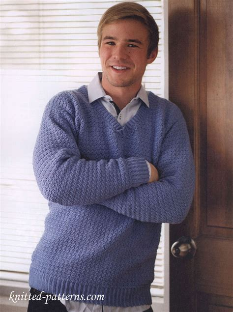 free knitting patterns for mens cardigan sweaters s v neck sweater free crochet pattern
