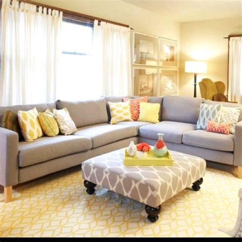 gray neutral living room haus pinterest sneak peek charity d amato ottomans neutral and living