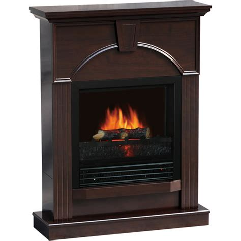 quality craft electric fireplace 26 quot traditional