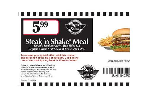 steak and shake coupons december 2018