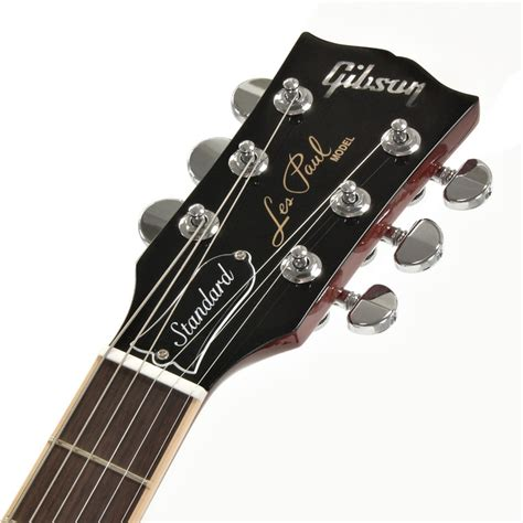 Gitar Elektrik Gibson Les Paul Cherry Burst gibson les paul standard 2013 plus top electric guitar