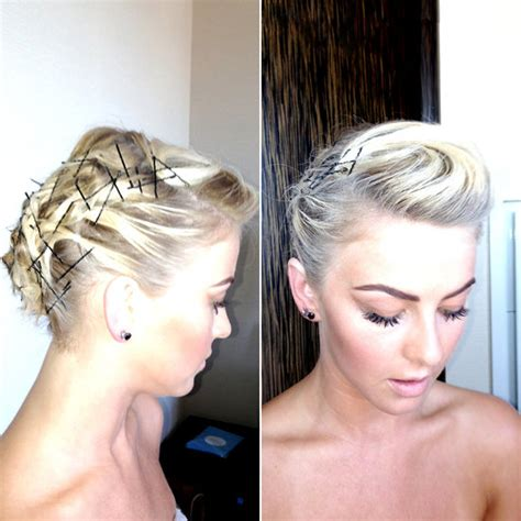 curly hairstyles using bobby pins how to do a bobby pinned updo with short hair hairstyle