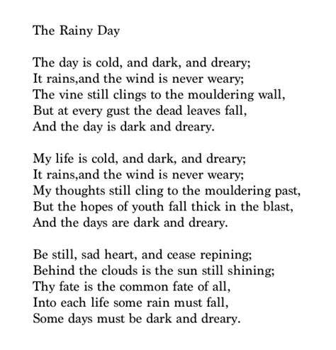 the rainy day henry wadsworth longfellow poetry