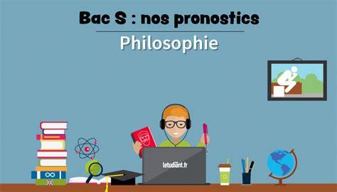 bac s 2018 les sujets probables en philosophie l etudiant