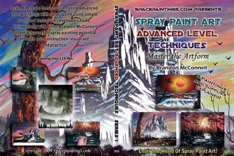 spray paint for beginners series 1 spray paint for beginners dvd spacepaintings