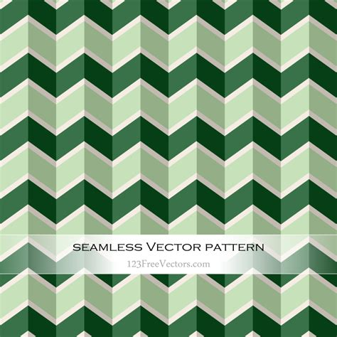 green zig zag pattern green seamless zigzag pattern vector by 123freevectors on