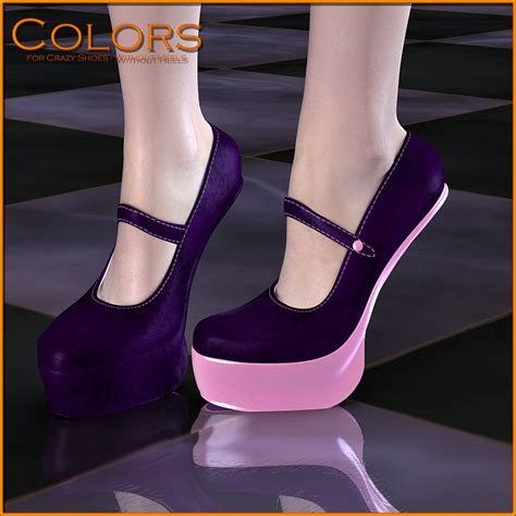 colors for shoes without heels poser danmoria