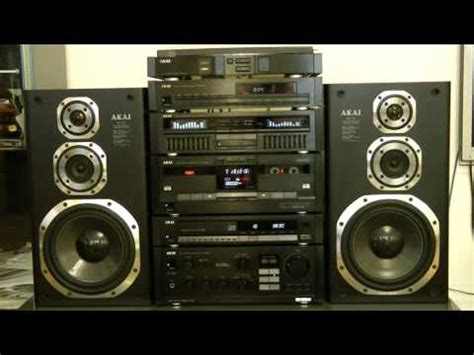 Akai Stereo Lidge Hitam akai hifi audio stereo topline series 1988