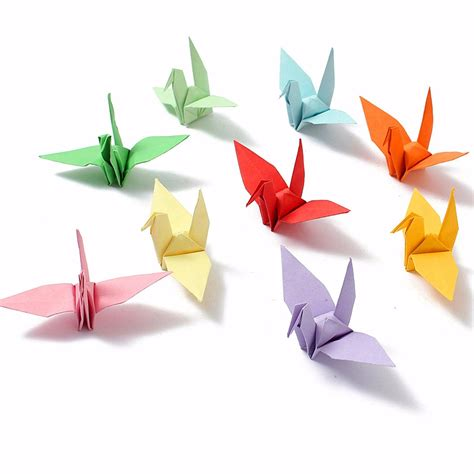 Origami Paper Nz - diy square sided origami folding lucky wish paper