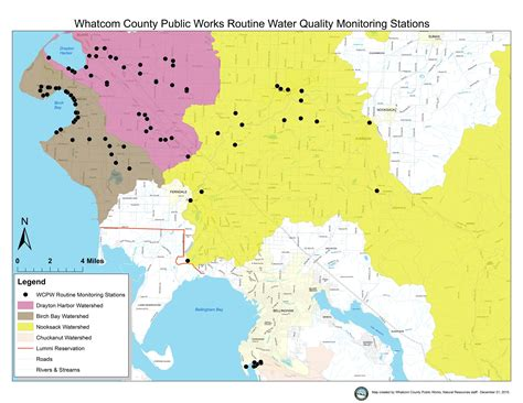 whatcom county zoning map water quality monitoring results whatcom county wa