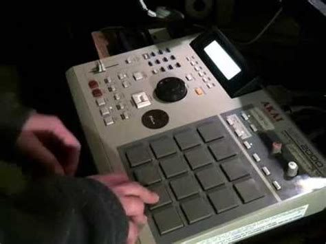 mpc house music mpc 2000 xl house music raw jam youtube