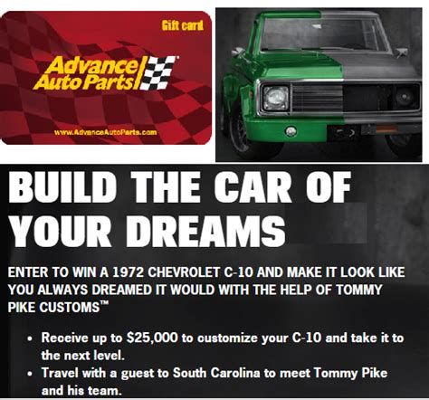 Advance Auto Parts Gift Card - advance auto parts 500 gift card giveaway from quaker state 20 winners grand prize