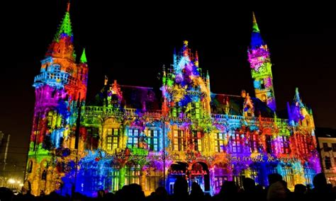 festive lights uk europe s top 10 light festivals travel the guardian