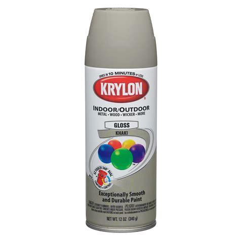 spray painter canada khaki paint spray krylon 03076373000 2504 photo