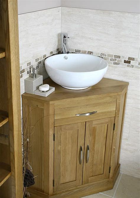 corner sinks for bathrooms with cabinets corner bathroom vanity oak and ceramic corner bathroom