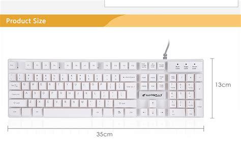 Keyboard Warwolf K1 warwolf k1 usb wired optical keyboa end 4 11 2020 11 47 pm