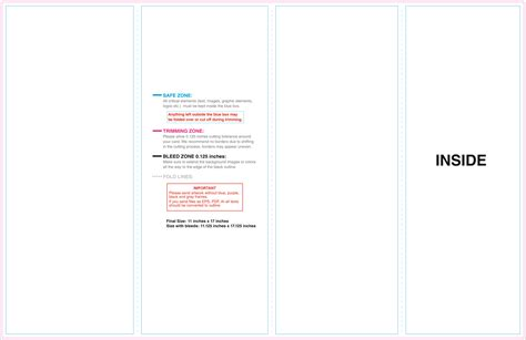 4 panel brochure template 10 best images of 4 panel brochure template 4 fold