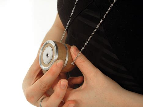 sneaky spy camera doubles as a piece of chunky jewelry