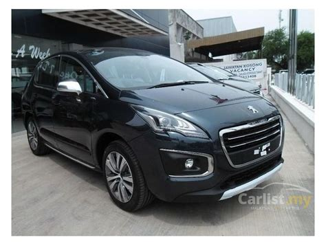 peugeot suv 2014 peugeot 3008 2014 1 6 in kedah automatic suv black for rm