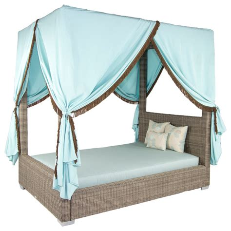 outdoor sofa with canopy palisades queen canopy bed canvas navy tropical