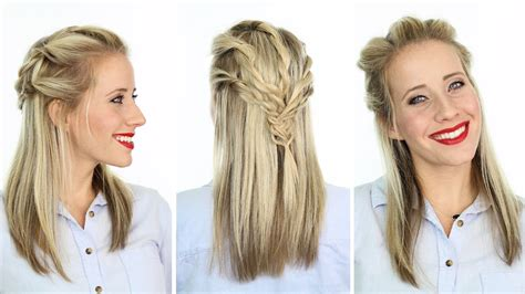 Twisted Pull Back   Hairstyle inspired by Reign   YouTube