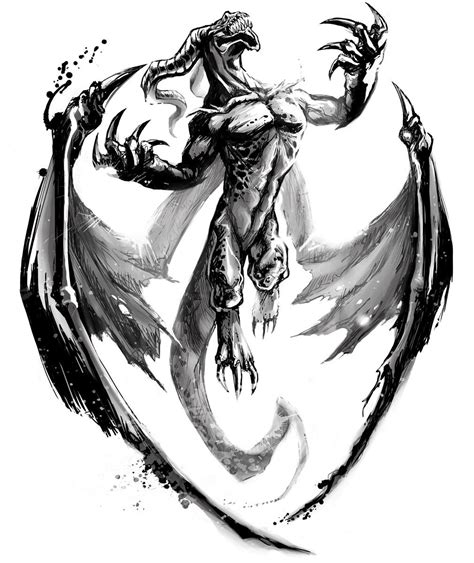 tattoo pictures of dragons simple dragon drawings dragon tattoo by sunflower skoops