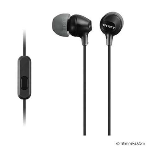 Harga In Ear Monitor jual sony in ear headphone mdr ex15ap black murah
