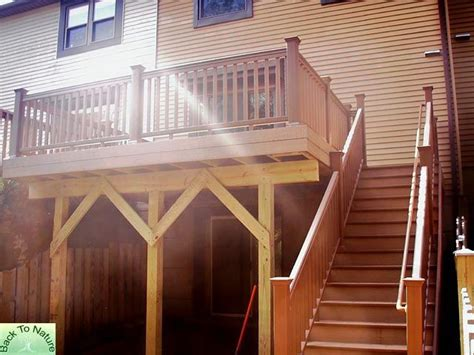 Townhouse Stairs Design Townhouse Deck Designs Pa Deck Builders Contractors Montgomery County Pa Deck Companies