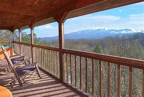 Mysty Mountain Cabin by Gatlinburg Cabin Mountain View From 150 00