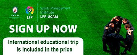 Mba In Sport Management by Programas Laliga Ucam Laliga Ucam