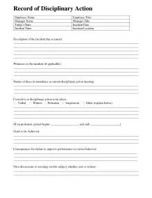 avery 5414 template employee discipline form template free 28 images best