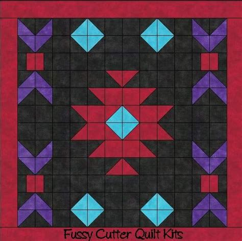 Southwest Quilt Patterns by Navajo Indian Southwest Design Easy To Make Pre Cut Fabric