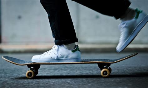 how to get comfortable on a skateboard adidas skateboarding just released a stan smith you can