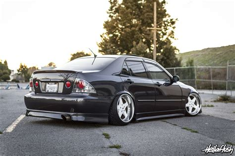 slammed lexus is300 lau is300 fatlace since 1999