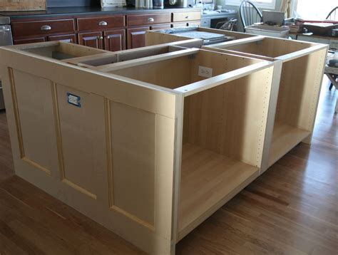 kitchen island with cabinets ikea hack how we built our kitchen island jeanne