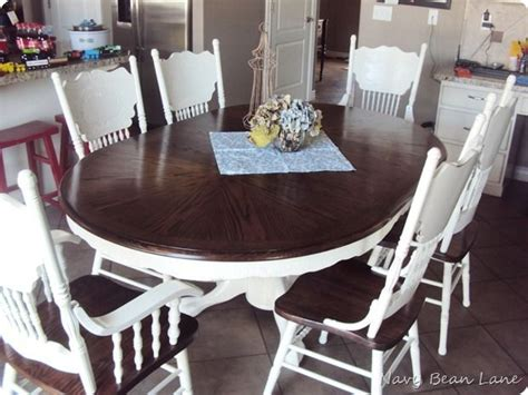 refurbished dining room table best 25 dining table redo ideas on diy table