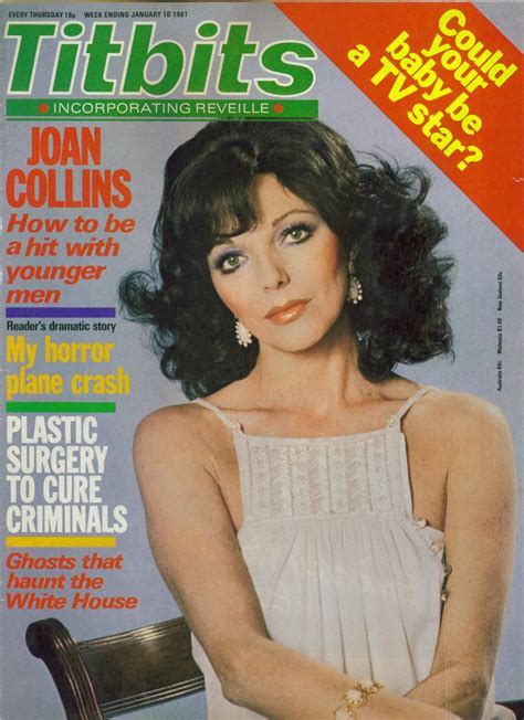 Legendary Dame On The Cover Titbits January 1981