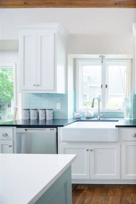 turquoise backsplash profile cabinet and design house of turquoise