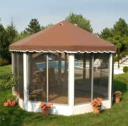 free standing screen room kits octagonal and screen enclosures