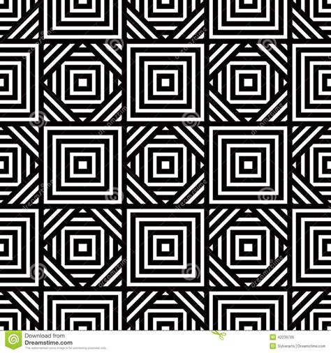 pattern design black seamless black and white geometric pattern simple vector