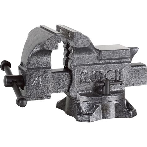 bench vises heavy duty klutch heavy duty bench vise 4in jaw width bench vises northern tool equipment