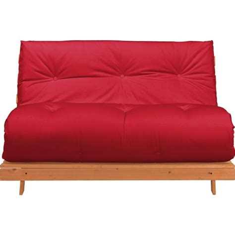 Argos Futon Beds by Buy Colourmatch Tosa Futon Sofa Bed With Mattress Poppy