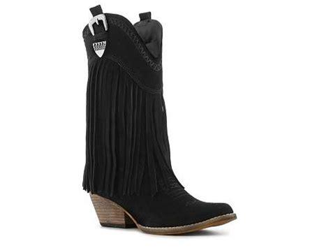 Country Boots Mokasin Suede 001 volatile delphia western boot dsw