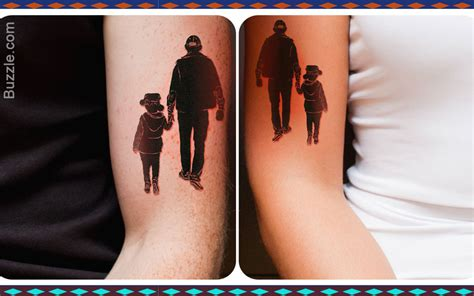 father and son matching tattoos 8 meaningful and fascinating designs