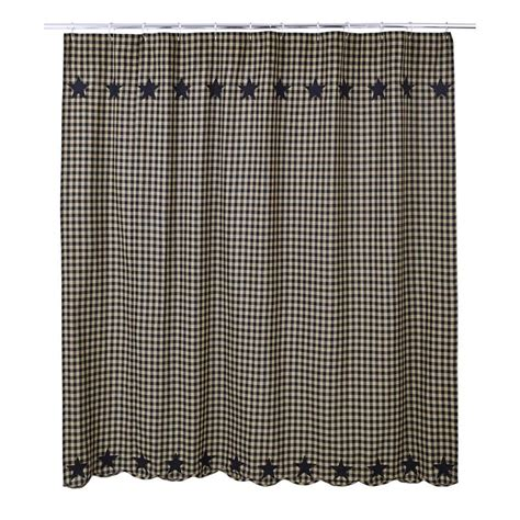 black check curtains black check star shower curtain www bestwindowtreatments com