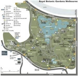 Royal Botanic Gardens Map Melbourne Royal Botanic Gardens Map