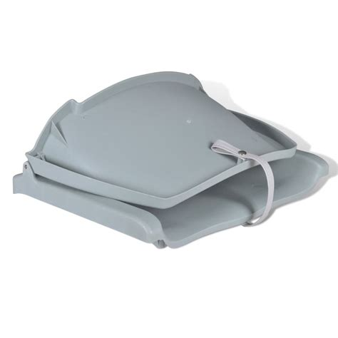 boat backrest vidaxl co uk boat seat foldable backrest no pillow grey