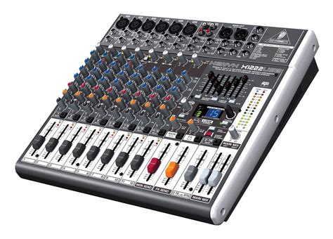 Mixer Behringer 6 Channel behringer xenyx x1222 usb mixer zzounds