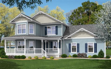 traditional 2 story house anna modular home floor plan
